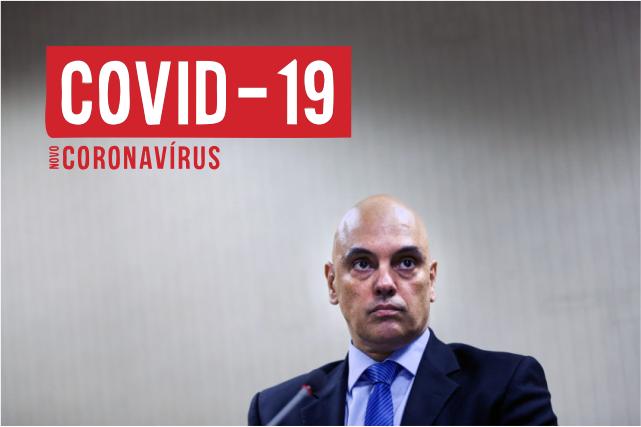 Ministro Alexandre Moraes STF COVID19
