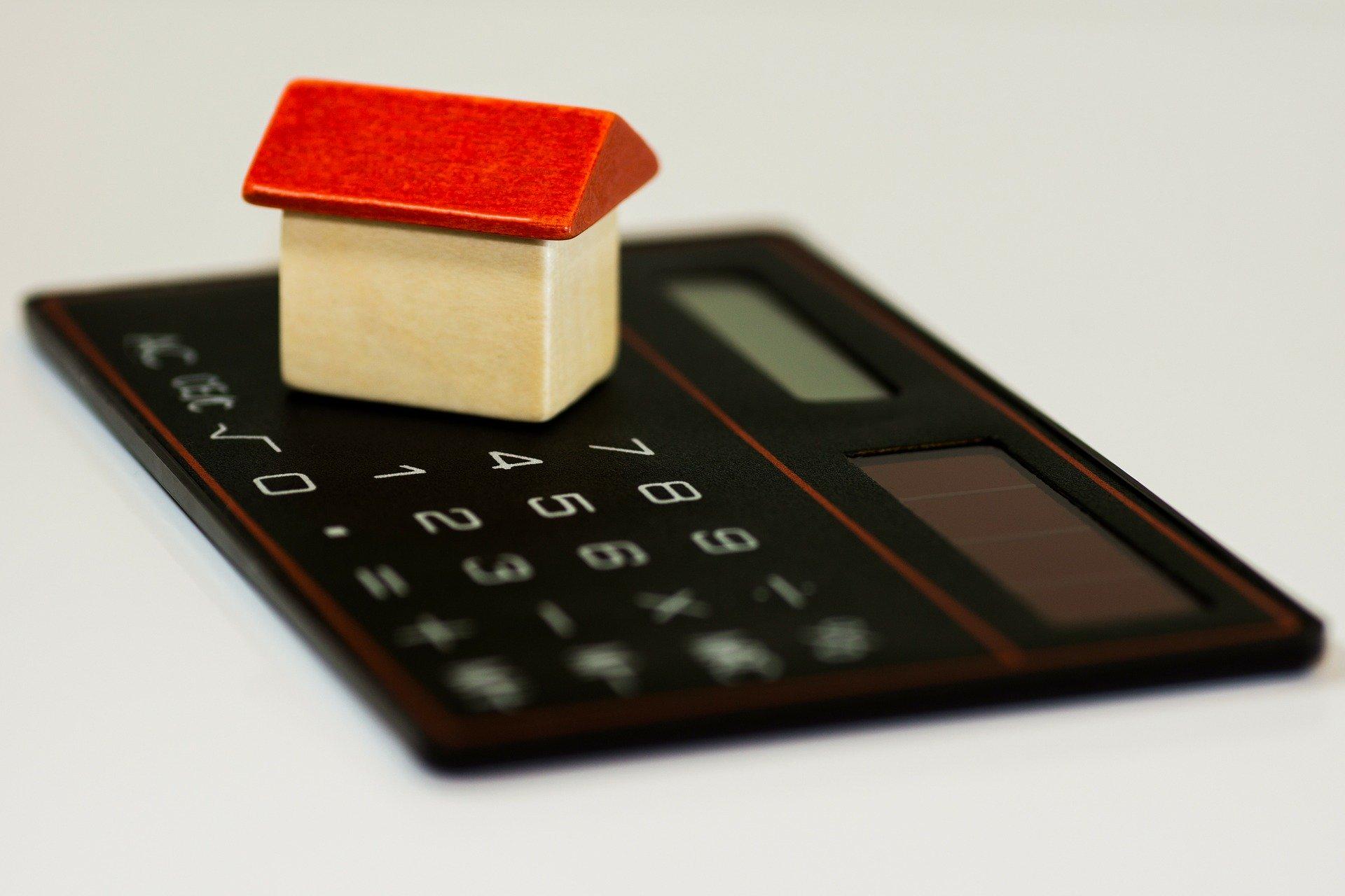 casa e calculadora